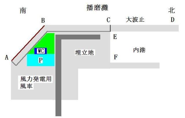 都志港地図