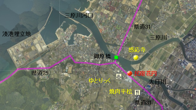 地図 三原川河口2.png